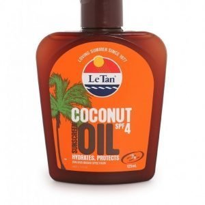 Le Tan Coconut Oil Spf 4 Aurinkoöljy