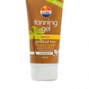 Le Tan Coconut Tanning Gel Itsestäänruskettavageeli Bronze