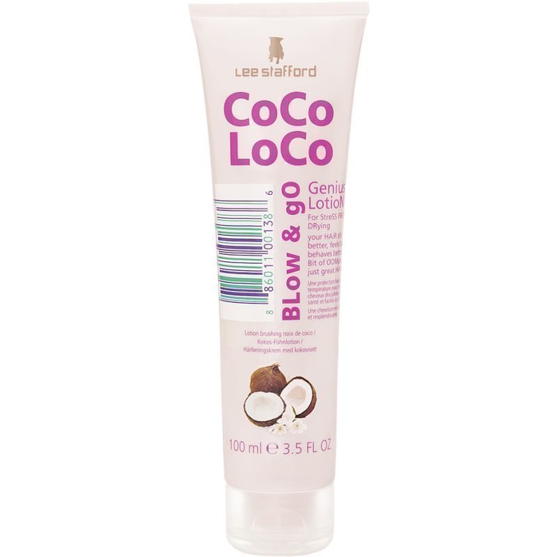 Lee Stafford CoCo LoCo Coconut Oil Blow & Go Lotion 100ml