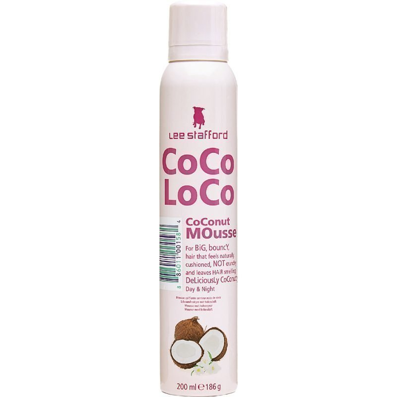 Lee Stafford CoCo LoCo Coconut Oil Coconut Mousse 200ml