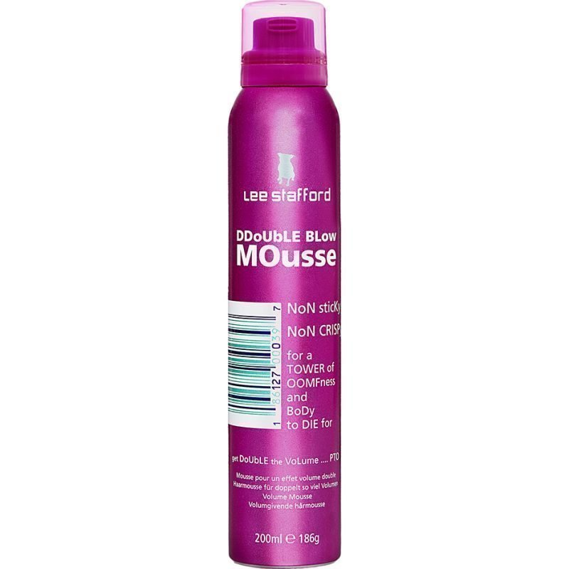 Lee Stafford Double Blow Mousse 200ml