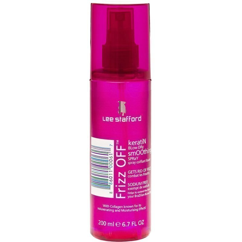 Lee Stafford Frizz Off Keratin Blow Dry Smoothing Spray 200ml