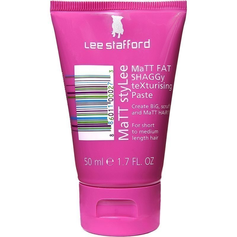 Lee Stafford Matt Stylee Matt Fat Shaggy Texturising Paste 50ml