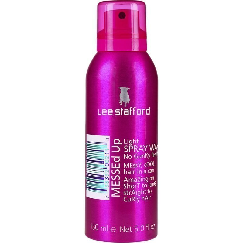 Lee Stafford Messed Up Spray Wax 150ml