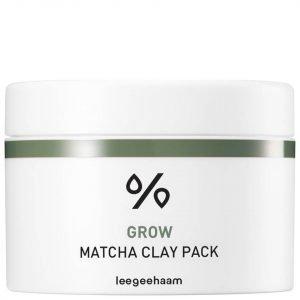 Leegeehaam Grow Matcha Clay Pack