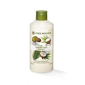 Les Plaisirs Nature Suihkugeeli Kookospähkinä