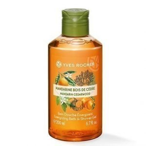 Les Plaisirs Nature Suihkugeeli Mandarin Cedarwood 200 ml