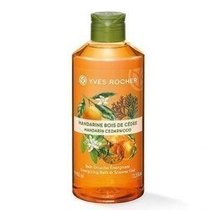Les Plaisirs Nature Suihkugeeli Mandarin Cedarwood 400 ml