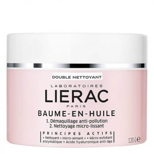 Lierac Double Nettoyant Double Cleanser Balm-In-Oil