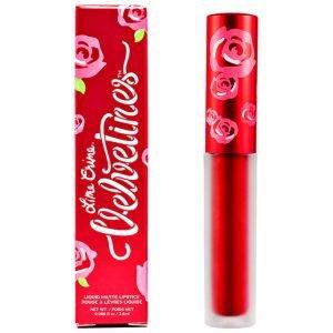 Lime Crime Metallic Velvetines Lipstick Red Hot