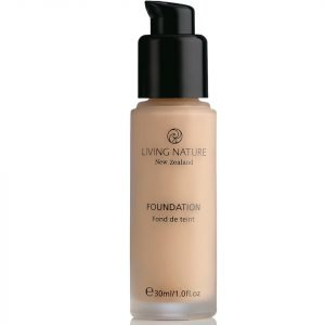 Living Nature Pure Foundation 30 Ml Various Shades Buff