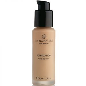 Living Nature Pure Foundation 30 Ml Various Shades Honey