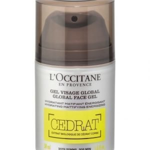 Loccitane Cédrat Global Face Gel Kasvovoide 50 ml