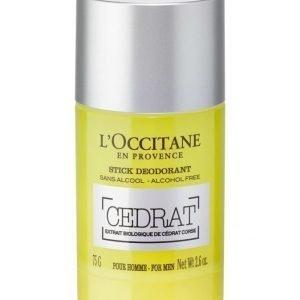 Loccitane Cédrat Stick Deodorant Deodorantti 75 g