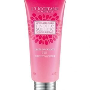 Loccitane Peony 2 In 1 Perfecting Scrub Kuorinta-aine 100 ml