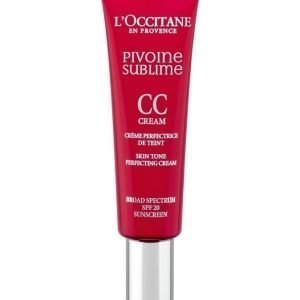 Loccitane Peony Perfecting Cc Cream Medium Voide 30 ml