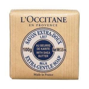 Loccitane Shea Extra Gentle Soap Milk Palasaippua 100 g