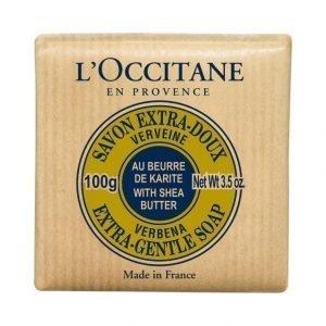 Loccitane Shea Extra Gentle Soap Verbena Palasaippua 100 g