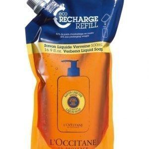 Loccitane Shea Liquid Soap Eco Refill Verbena Nestesaippua Täyttöpakkaus 500 ml