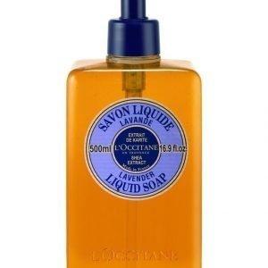 Loccitane Shea Liquid Soap Lavender Nestesaippua 500 ml