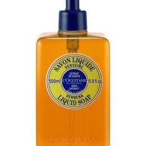 Loccitane Shea Liquid Soap Verbena Nestesaippua 500 ml