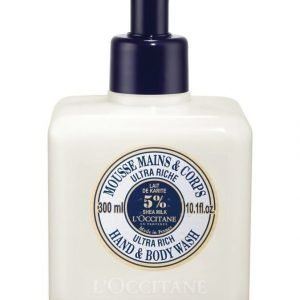 Loccitane Shea Ultra Rich Hand & Body Wash Suihkusaippua 300 ml
