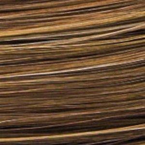Lofty Peruukki Saskia Keskiruskea / Meripihka Raidoitettu