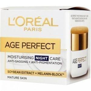 L'oréal Paris Age Perfect Night Cream 50ml Yövoide