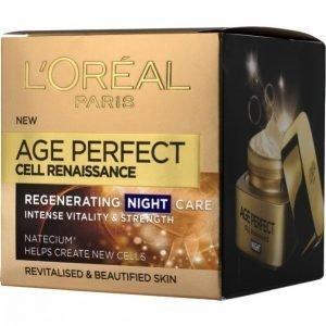 L'oréal Paris Age Perfect Renaissance Cellulaire Night 50ml Yövoide