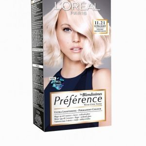 L'oréal Paris Blondissimes Préférence With Cool Tones Hiusväri Crystal Blond