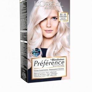 L'oréal Paris Blondissimes Préférence With Cool Tones Hiusväri Hopea