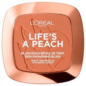 L'oréal Paris Blush Powder Life's A Peach 9 G
