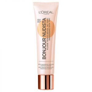 L'oréal Paris Bonjour Nudista Skin Tint Bb Cream 30 Ml Various Shades Medium Dark