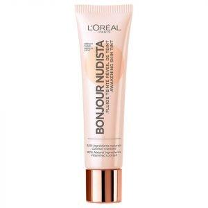 L'oréal Paris Bonjour Nudista Skin Tint Bb Cream 30 Ml Various Shades Medium Light
