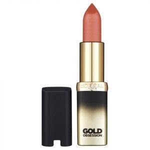 L'oréal Paris Color Riche Gold Obsession Lipstick Cp36 Nude Gold
