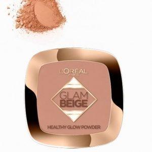 L'oréal Paris Glam Beige Powder Puuteri Light / Medium