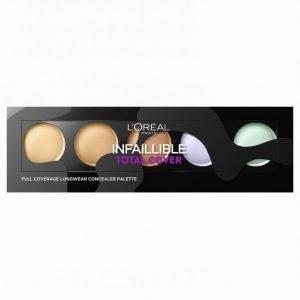 L'oréal Paris Infallible Total Cover Concealer Peitevoide Multicolor