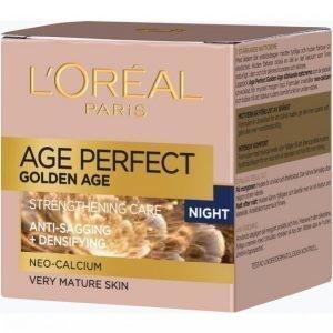 L'oréal Paris Lsc Age Perfect Golden Age Night 50 Ml Yövoide