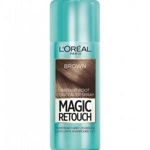 L'oréal Paris Magic Retouch Instant Root Concealer Spray Hiusväri Brown