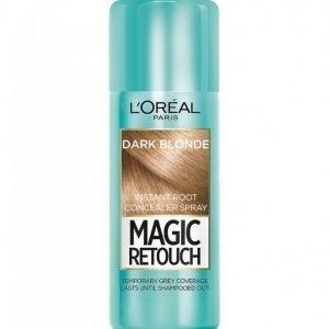L'oréal Paris Magic Retouch Instant Root Concealer Spray Hiusväri Dark Blonde
