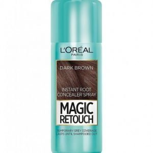 L'oréal Paris Magic Retouch Instant Root Concealer Spray Hiusväri Dark Brown