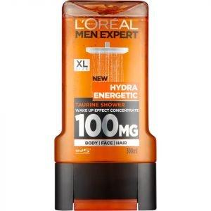 L'oréal Paris Men Expert Hydra Energetic Shower Gel 300 Ml