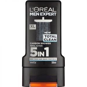 L'oréal Paris Men Expert Total Clean Shower Gel 300 Ml