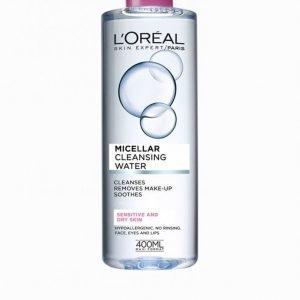 L'oréal Paris Micellar Cleansing Water Sensitive / Dry Skin 400 Ml Meikinpoistoaine