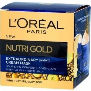 L'oréal Paris Nutrigold Night Cream Mask 50 Ml Yövoide
