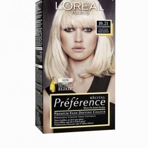 L'oréal Paris Préferénce Récital Hair Color 10
