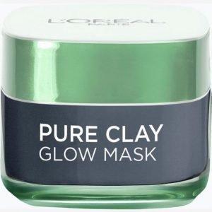 L'oréal Paris Pure Clay Mask 50 Ml Kasvonaamio
