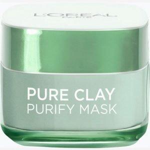 L'oréal Paris Pure Clay Mask Purify 50 Ml Kasvonaamio