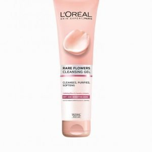 L'oréal Paris Rare Flowers Cleansing Gel 150 Ml Meikinpoistoaine