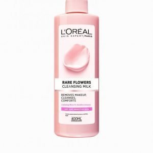 L'oréal Paris Rare Flowers Cleansing Milk 400 Ml Meikinpoistoaine